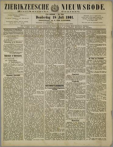 Zierikzeesche Nieuwsbode 1901-07-18