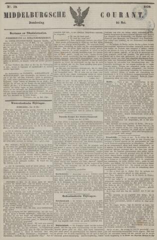 Middelburgsche Courant 1850-05-16