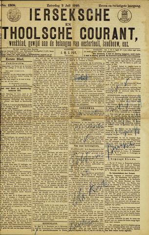 Ierseksche en Thoolsche Courant 1910-07-02