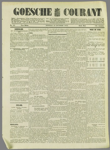 Goessche Courant 1932-10-25