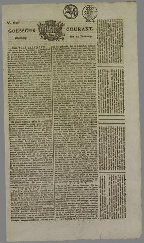 Goessche Courant 1822-01-14