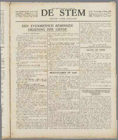 de Stem 1945-02-15