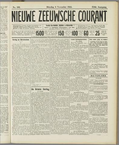 Nieuwe Zeeuwsche Courant 1915-11-09