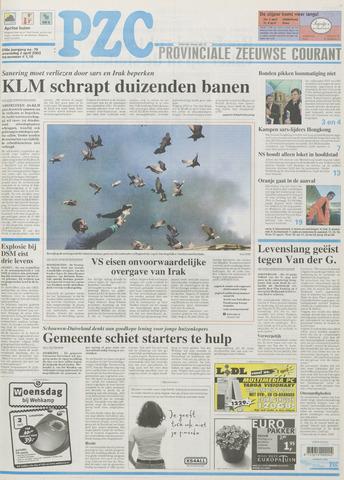 Provinciale Zeeuwse Courant 2003-04-02