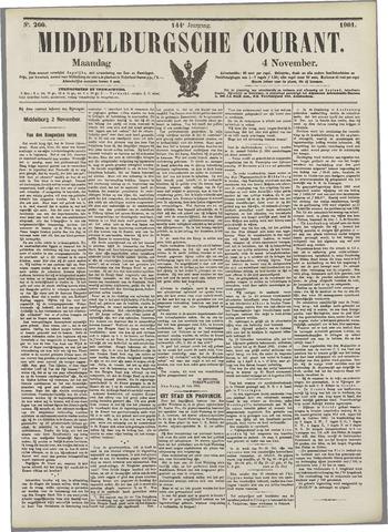 Middelburgsche Courant 1901-11-04