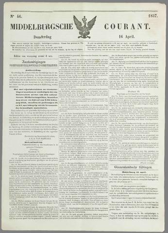 Middelburgsche Courant 1857-04-16