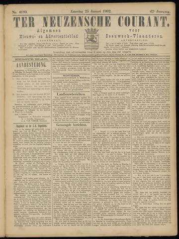 Ter Neuzensche Courant. Algemeen Nieuws- en Advertentieblad voor Zeeuwsch-Vlaanderen / Neuzensche Courant ... (idem) / (Algemeen) nieuws en advertentieblad voor Zeeuwsch-Vlaanderen 1902-01-25