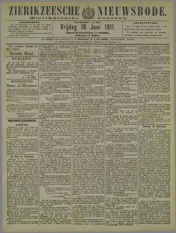 Zierikzeesche Nieuwsbode 1911-06-16