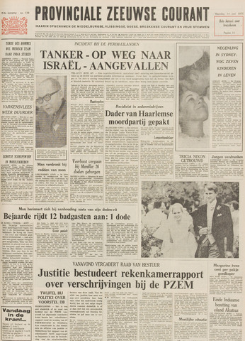 Provinciale Zeeuwse Courant 1971-06-14