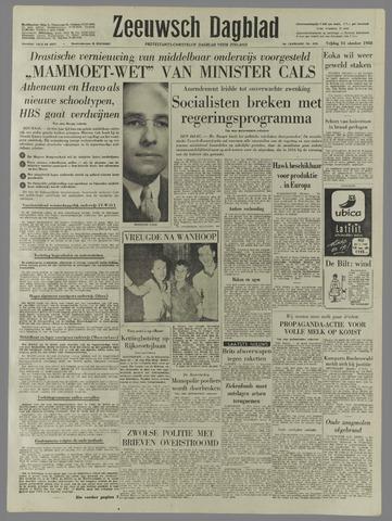 Zeeuwsch Dagblad 1958-10-31