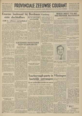 Provinciale Zeeuwse Courant 1949-08-22