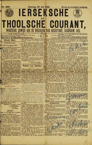 Ierseksche en Thoolsche Courant 1910-07-09