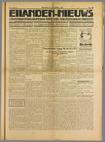 Eilanden-nieuws. Christelijk streekblad op gereformeerde grondslag 1935-04-10