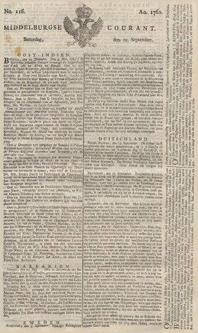 Middelburgsche Courant 1762-09-25