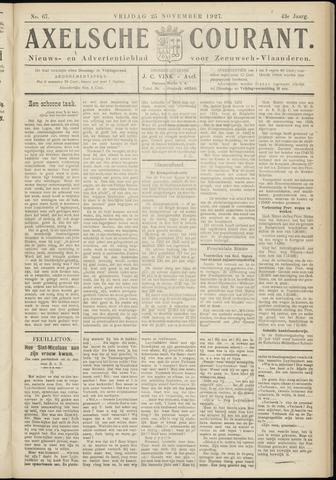 Axelsche Courant 1927-11-25