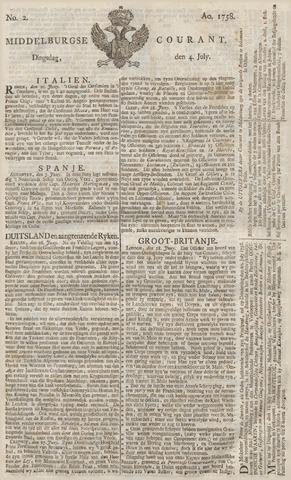 Middelburgsche Courant 1758-07-04
