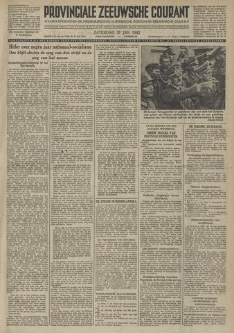 Provinciale Zeeuwse Courant 1942-01-31