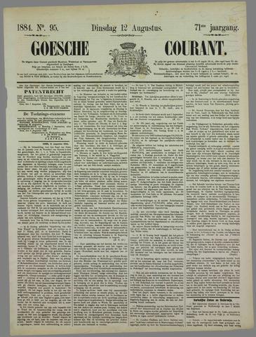 Goessche Courant 1884-08-12
