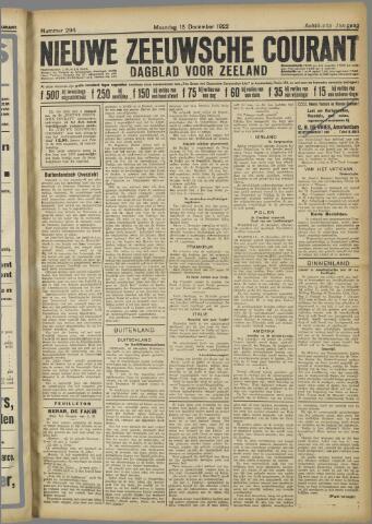 Nieuwe Zeeuwsche Courant 1922-12-18