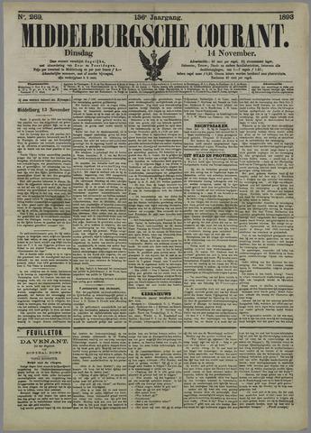 Middelburgsche Courant 1893-11-14