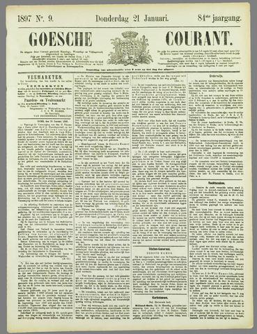 Goessche Courant 1897-01-21