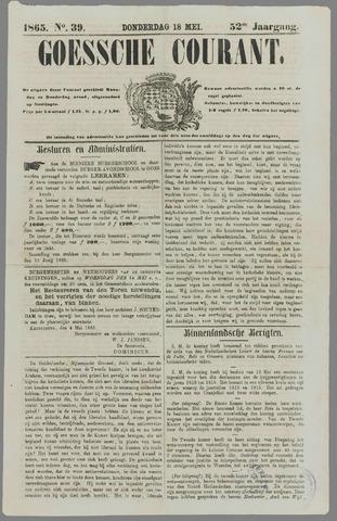 Goessche Courant 1865-05-18