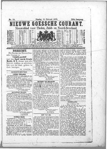 Nieuwe Goessche Courant 1876-02-15