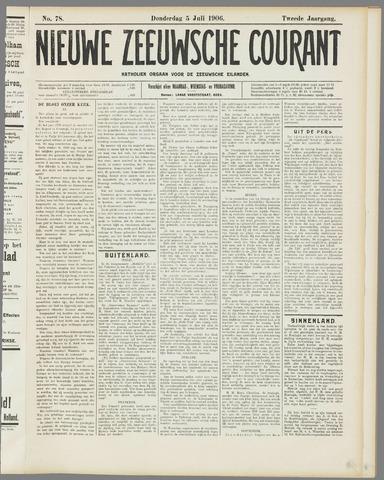 Nieuwe Zeeuwsche Courant 1906-07-05