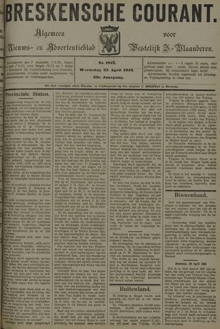 Breskensche Courant 1913-04-23