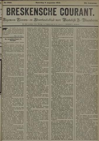 Breskensche Courant 1914-08-08