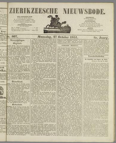 Zierikzeesche Nieuwsbode 1851-10-27