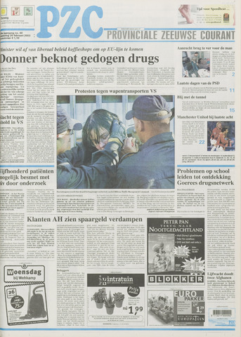 Provinciale Zeeuwse Courant 2003-02-26