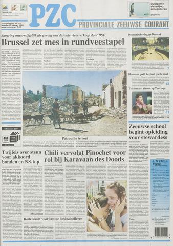 Provinciale Zeeuwse Courant 2001-01-30