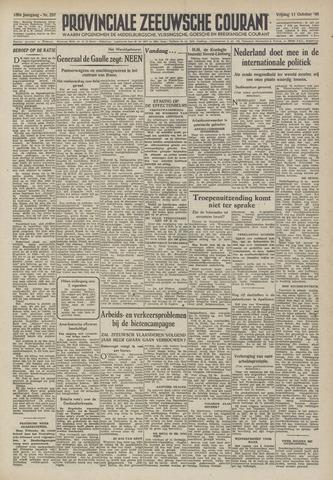 Provinciale Zeeuwse Courant 1946-10-11