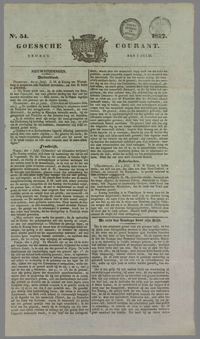 Goessche Courant 1837-07-07