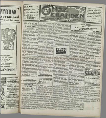 Onze Eilanden 1927-10-29