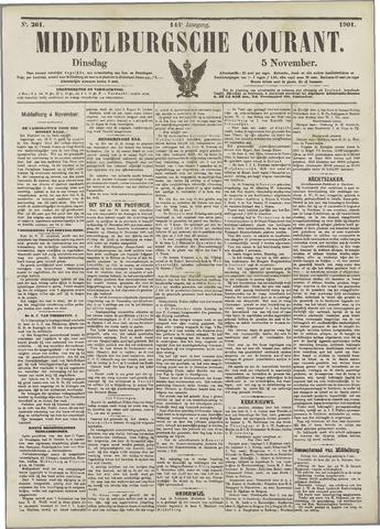 Middelburgsche Courant 1901-11-05