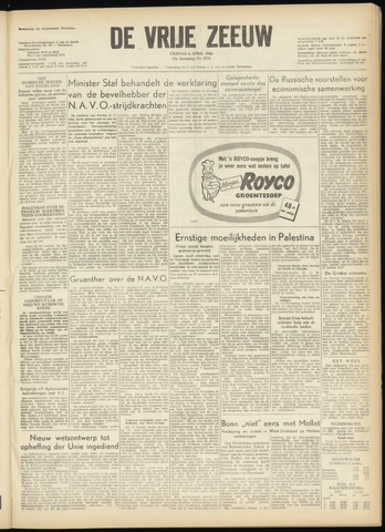 de Vrije Zeeuw 1956-04-06
