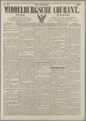 Middelburgsche Courant 1895-09-16
