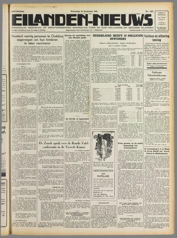 Eilanden-nieuws. Christelijk streekblad op gereformeerde grondslag 1949-11-23