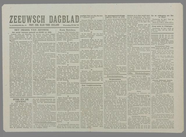 Zeeuwsch Dagblad 1945-05-23