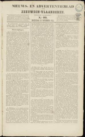 Ter Neuzensche Courant. Algemeen Nieuws- en Advertentieblad voor Zeeuwsch-Vlaanderen / Neuzensche Courant ... (idem) / (Algemeen) nieuws en advertentieblad voor Zeeuwsch-Vlaanderen 1855-11-21