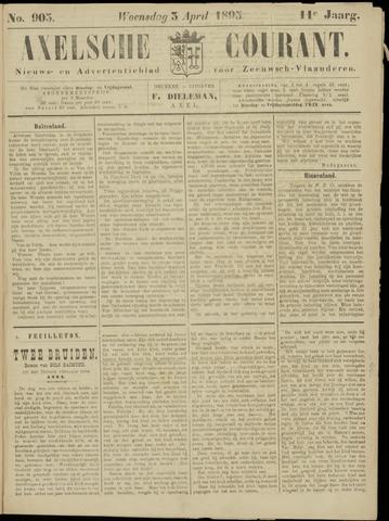 Axelsche Courant 1895-04-03