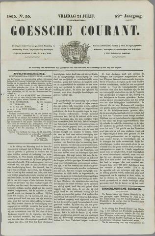 Goessche Courant 1865-07-21