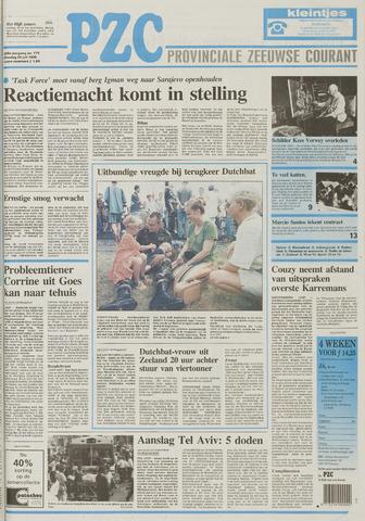 Provinciale Zeeuwse Courant 1995-07-25