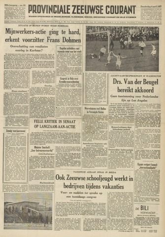 Provinciale Zeeuwse Courant 1957-04-04