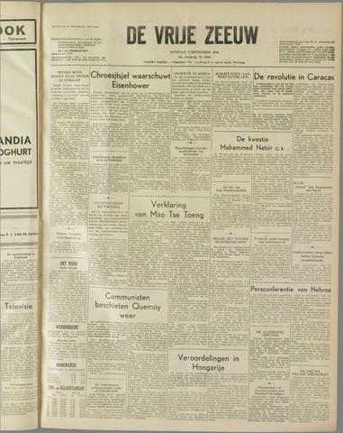 de Vrije Zeeuw 1958-09-09