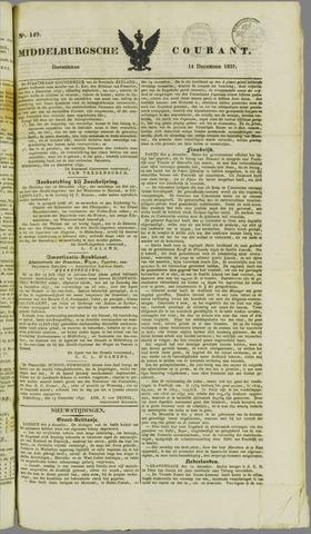 Middelburgsche Courant 1837-12-14