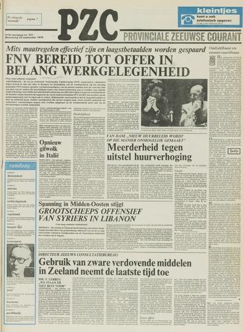 Provinciale Zeeuwse Courant 1976-09-29
