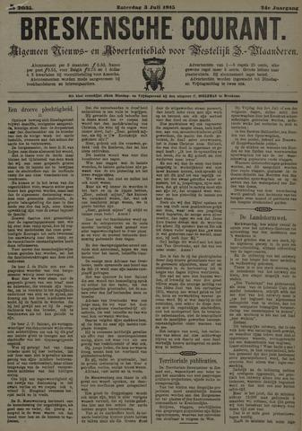 Breskensche Courant 1915-07-03
